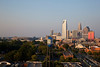 Charlotte Skyline in the Late Afternoon
