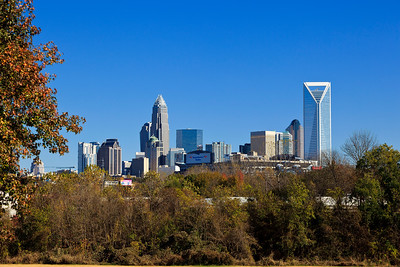 Charlotte Skyline from Bryant Park