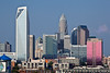 Charlotte Skyline in the Day