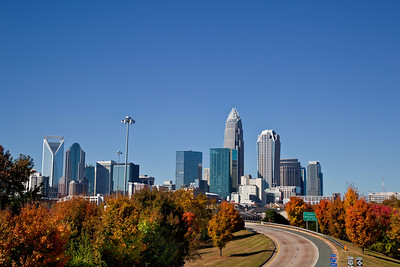 Autumn in Charlotte!  11x14 mounted print would look good