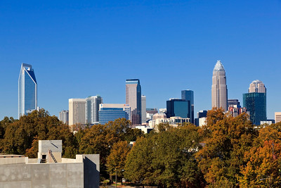 Charlotte Skyline from Morehead