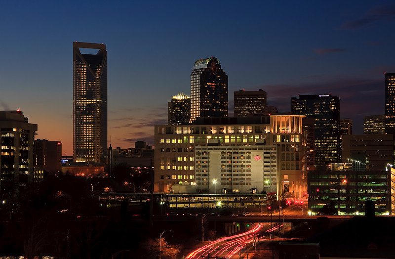 Charlotte at Night