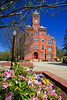 Biddle Hall in the Spring