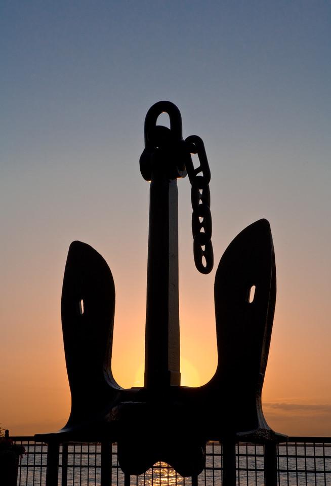 Anchor at Dawn, Navy Pier
