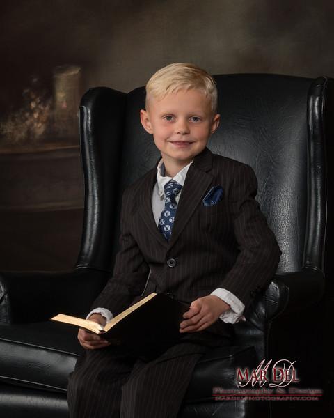 kid babtism portrait