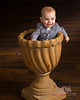 baby in pot at studio