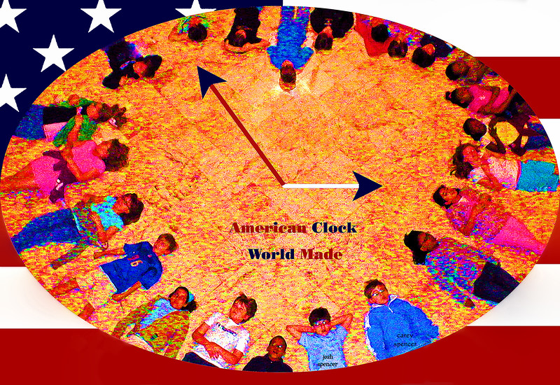 American Clock - World Made