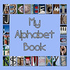 "6""x6"" Hardcover Children's Alphabet Book (Blue)"