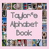 "6""x6"" Hardcover Children's Alphabet Book With Child's Name (Pink)"