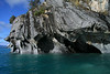 From the glacial rock flour water and water eroded and sculpted shoreline of western Lago Carrera - beyond the overhang and southern beech tree above - to the distal glacial ice of the Northern Patagonia Ice Field.
