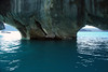 From the water eroded arches, of the Capilla de Marmol - Lago Carrera.