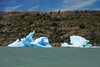 Lago Grey among the icebergs - Torres del Paine National Park.