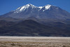 Across the Salar Carcote up to Volcan Aucanquilcha - northern Antofagasta region.