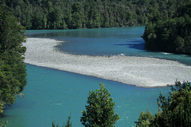 Rio Palena - near the region borders of Aisen (northern area) and Los Lagos (southern area).