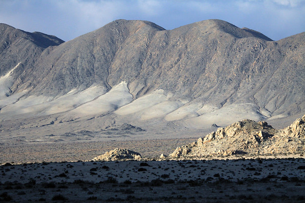 Pan de Azucar National Park - part of the Coastal Range and Atacama Desert - this desert stretches for about 600 mi. (1,000 km), from the northern Chile border with Peru, to about 30°S, and extends from the Pacific Coast up to about 4,900 ft. (1500 m) - this is the driest desert on Earth - this area receiving about 0.7 in. (17 mm) of precipitation annually.