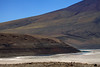 Along the southern boundary of the endorheic salt flat, the Salar Carcote - to the distal Laguna Verde - along lower slope of Volcan Chela.