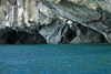 Marble sea caves and arches, along the western shoreline of Lago Carrera.