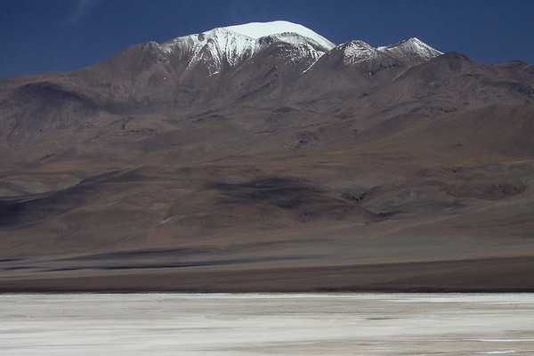 Across the northwestern end of the Salar Ascotan - up to Cerro Polapi - northern Antofagasta region.