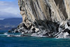 From the water sculpted metamorphic calcite marble shoreline, along the western shoreline of Lago Carrera - to the distal edge of Isla Macias.