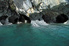 Beyond the glacial milk of Lago Carrera - to the marble columns along the sea caves.