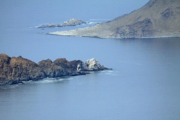 Punta Rodriguez - out to the eastern slope of Isla Pan Azucar and the Islets Chatas.