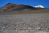 Beyond Cerro Pastillos - to the distal snow-cloaked Volcan Copiapo.