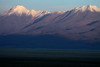Day's last rays upon Cerros Cañapa, rising to about 19,298 ft. (5,882 m), in the Potosi department of Bolivia.