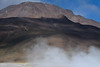 Geothermal steam rising above the Tatio Geyser Field - Loa province - northeastern Antofagasta region.