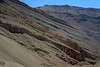 Weather eroded slopes along the central Chañaral province - Atacama region.