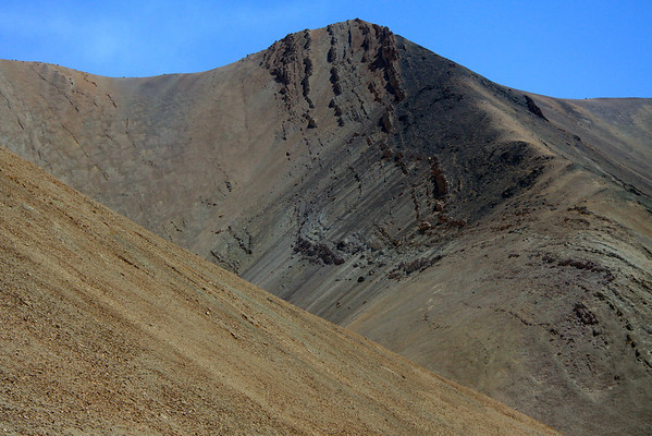 Cordillera Andes - amongst the steep slopes and rock fold - central Chañaral province - Atacama region.