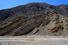 Folded sedimentary rock adjacent the river bed of Quebrada Paipote - northeastern Copiapó province - Atacama region.