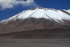 Mid-summer season snow upon the northern flank of Cerros Barrancas Blancas - northeastern Copiapó province - Atacama region.