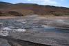 Braided geothermal hot spring streams - all together forming the head of the Salado River - Tatio Geyser Field - Loa province - northeastern Antofagasta region.