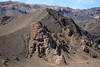 Volcanic rock ridges amongst the northern slopes along the Quebrada Paipote - along ruta 31 to Nevada Tres Cruces National Park - Copiapó province - Atacama region - northern Chile.