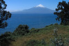 Volcan Osorno - a stratovolcano peaking at around  8,730 ft. (2,661 m) - adjacent the shoreline of Lago Llanquihue - Los Lagos region.
