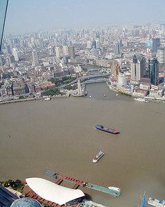 view from TV Tower, Shanghai
