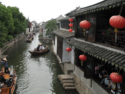 Zhou-zhuang - A Watertown near Shanghai