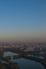 Moonrise over Beijing (Beijing, China, - 11/12/13, 4:24:11 PM)