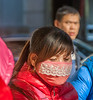 Pretty pink mask and puffy jackets (all the rage this year) (Beijing, China, - 11/12/13, 2:02:35 PM)