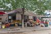 Produce for sale on a Yuanqu roadside. (Yuanqu, Yuncheng, Shanxi, CN - 07/21/12, 12:48:56 PM)