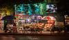 A fruit stand and convenience store on Beijing's Wangfujing Street. (Dongcheng Qu, Beijing Shi, CN - 08/12/06, 7:05:13 AM)