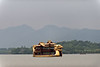 A sightseeing boat takes tourists around Hangzhou's Xi Hu (West Lake) (07/23/11, 4:51:59 PM)