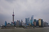 This iconic view of Shanghai, taken from across the Huangpu River on the Bund, shows the Pudong New Area - the commercial & finacial heart of China. (07/20/11, 1:40:04 PM)