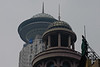 Though built over half a century apart, The Radisson Shanghai (background) and the New World Emporium seem to share a similar aesthetic. (07/20/11, 11:23:02 AM)