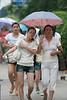Shanghai pedestrians on a hot July day. (07/20/11, 11:11:17 AM)