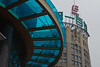 Two distinct styles of architecture on Shanghai's Nanjing Road. (07/20/11, 11:06:24 AM)