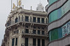 Older neo-classical structures contrast with newer modern buildings throughout the city of Shanghai. (07/20/11, 11:33:04 AM)