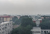 Western Beijing as seen from the central Dongcheng district on a very heavily polluted day. (Dongcheng, Beijing, CN - 07/11/12, 3:03:04 PM)