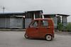"""A man drives a """"car-cycle"""" in Xiaotun Village. (Yindu Qu, Anyang Shi, Henan Sheng, CN - 07/15/16, 12:29:49 PM)"""