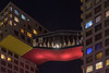 A section of Beijing's Linked Hybrid MOMA Apartment Building. (Dongcheng Qu, Beijing Shi, CN - 12/05/17, 5:40:50 PM)